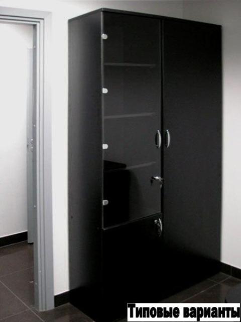 Ваш шкаф: шкаф черный офисный. изготовление любых офисных шк.